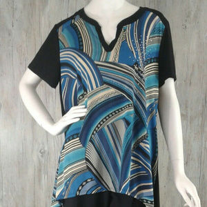 Front Of Closet Womens 2X V Neck Blouse